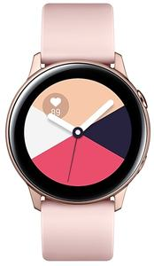 Samsung - Galaxy Watch Active 40mm Bluetooth Smart Watch - Rose Gold - Cover