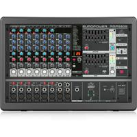 Behringer PMP580S Europower 500 watt 10-Channel Powered Mixer with KLARK TEKNIK Effects (Black)