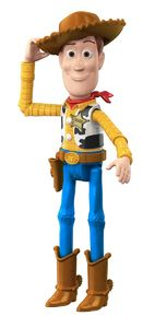 Toy Story 4 - Basic Figure Movie Woody Action Figure - Cover