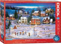 Eurographics - Stars On the Ice Puzzle (1000 Pieces) - Cover