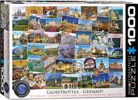 Eurographics - Germany -  Globetrotter Puzzle (1000 Pieces) - Cover
