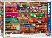 Eurographics - Travel Suitcases Puzzle (1000 Pieces) - Cover