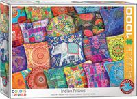 Eurographics - Indian Pillows Puzzle (1000 Pieces) - Cover