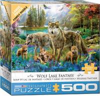 Eurographics - Wolf Lake Fantasy Puzzle (500 Pieces) - Cover