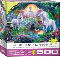 Eurographics - Unicorn Fairy Land Puzzle (500 Pieces) - Cover