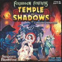 Shadows of Brimstone - Temple of Shadows Deluxe Expansion (Board Game) - Cover