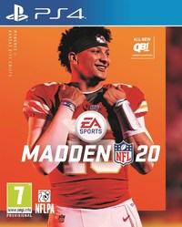 Madden NFL 20 (PS4) - Cover