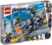 LEGO® Marvel Avengers - Captain America: Outriders Attack (167 Pieces) - Cover