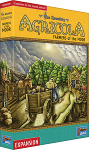 Agricola - Farmers of the Moor Expansion (Board Game) - Cover
