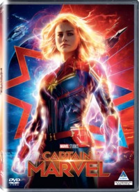 Captain Marvel (DVD) - Cover