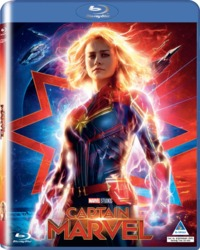 Captain Marvel (Blu-ray) - Cover