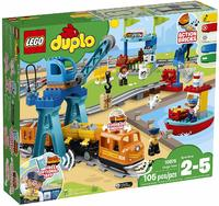 LEGO® DUPLO® Town - Cargo Train (105 Pieces) - Cover