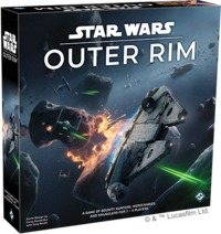 Star Wars: Outer Rim (Board Game) - Cover