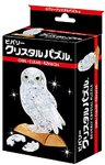 Beverly Crystal 3D Jigsaw Puzzle - Clear Owl) (42 Pieces)