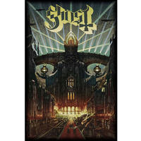 Ghost Meliora Textile Poster