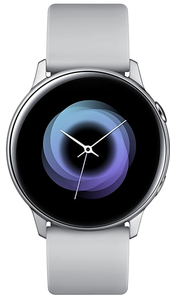 Samsung Galaxy Watch Active 40mm Bluetooth Smart Watch - Silver - Cover