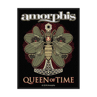Amorphis Queen of Time Standard Patch - Cover