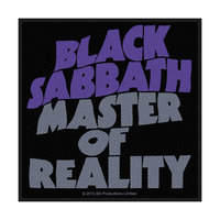 Black Sabbath Master of Reality Patch - Cover