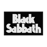 Black Sabbath Logo Patch - Cover