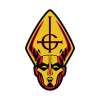Ghost Papa Head Standard Patch - Cover