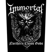 Immortal Northern Chaos Gods Back Patch - Cover