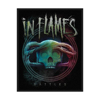 In Flames Battles Standard Patch - Cover