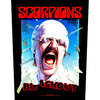 Scorpions Blackout Back Patch