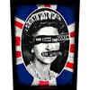 Sex Pistols God Save the Queen Back Patch Cover