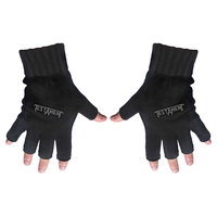 Testament Logo Fingerless Gloves - Cover
