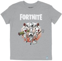 Fortnite - High Stakes - Teen T-Shirt - Grey (9-10 Years) - Cover