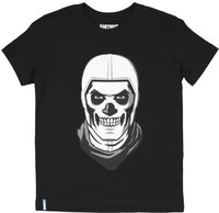 Fortnite - Skull Trooper - Teen T-Shirt - Black (13-14 Years) - Cover