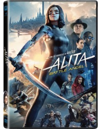 Alita: Battle Angel (DVD) - Cover