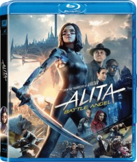 Alita: Battle Angel (Blu-ray) - Cover