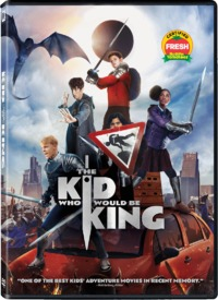 The Kid Who Would Be King (DVD) - Cover