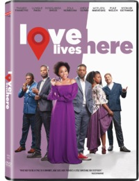 Love Lives Here (DVD) - Cover