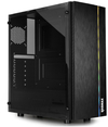 Raidmax - Blazar ARGB LED ATX Micro ATX Mini ITX Gaming Chassis - Black