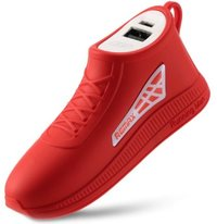 Remax Running Shoe 2500mAh Power Bank - Red - Cover