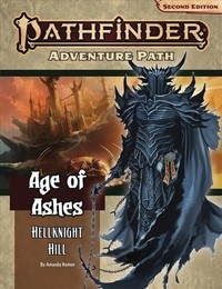 Pathfinder (Second Edition) Adventure Path - Ages of Ashes - Hellknight Hill (Role Playing Game) - Cover