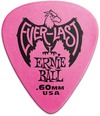 Ernie Ball Everlast .60mm Delrin Plectrum (Pink)