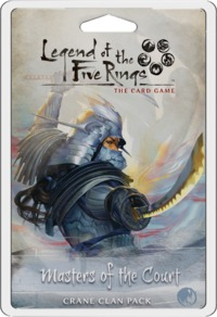 Legend of the Five Rings: The Card Game - Masters of the Court: Crane Clan Pack (Card Game) - Cover