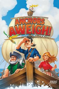 Anchors Aweigh! (Board Game) - Cover