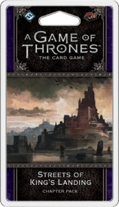 A Game of Thrones: The Card Game (Second Edition) - Streets of King's Landing (Card Game) - Cover