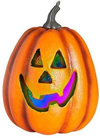 Halloween Pumpkin Colour Changing LED Lights Prop - Cover