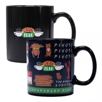Friends - Quotes Heat Chaning Mug - Cover