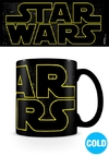 Star Wars - Logo Characters Heat Changing Mug