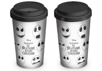 Nightmare Before Christmas - Faces of Jack Travel Mug (340ml) - Cover