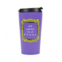 Friends - We Were On a Break Stainless Steel Travel Mug (300ml) - Cover