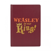 Harry Potter - King Weasley A5 Notebook - Cover