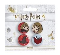 Harry Potter - Chibi Hermione / Sorting Hat Badges - Cover