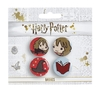 Harry Potter - Chibi Hermione / Sorting Hat Badges